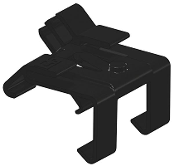 Afbeeldingen van ClickFit Evo - Montagerail Kabelclip optimizer ready