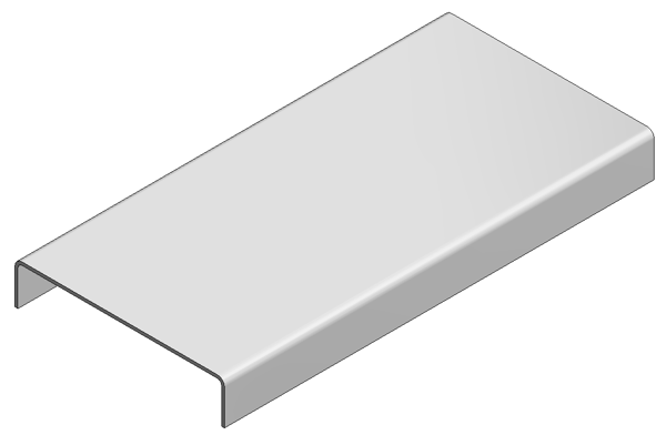 Afbeeldingen van Verz deksel draadgoot b=50 L=3000mm