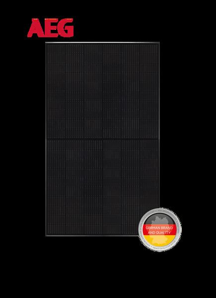 Afbeeldingen van AEG-AS-M1202B-H(M6)-370W Mono Full Black/ Half cel