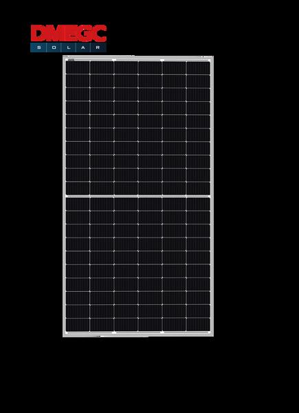 Afbeeldingen van DMEGC 375W_Mono half cel/ zilver frame witte backsheet