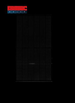 Afbeeldingen van DMEGC 395W Mono Full Black half cel