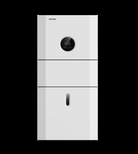 Afbeeldingen van BluE-S-5000D inclusief 1x 5.1KWh batterij