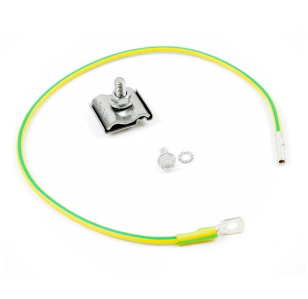 Afbeeldingen van Aardingskit 6mm kabel incl UNIclamp L=50cm