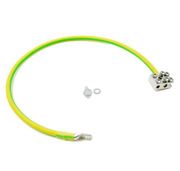 Afbeeldingen van Aardingskit 16mm kabel incl aardblok L=30cm