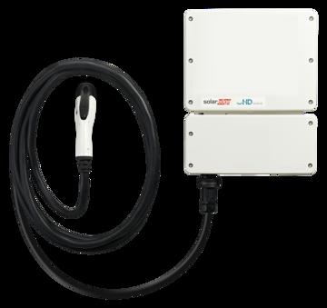 Afbeeldingen van SolarEdge_EV Charger_3680H_HD Wave_met SetApp configuratie, exclusief laadkabel