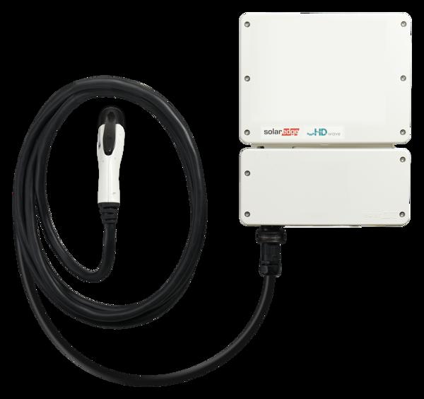 Afbeeldingen van Solaredge_EV Charger_5000H_HD Wave_met SetApp configuratie, exclusief laadkabel